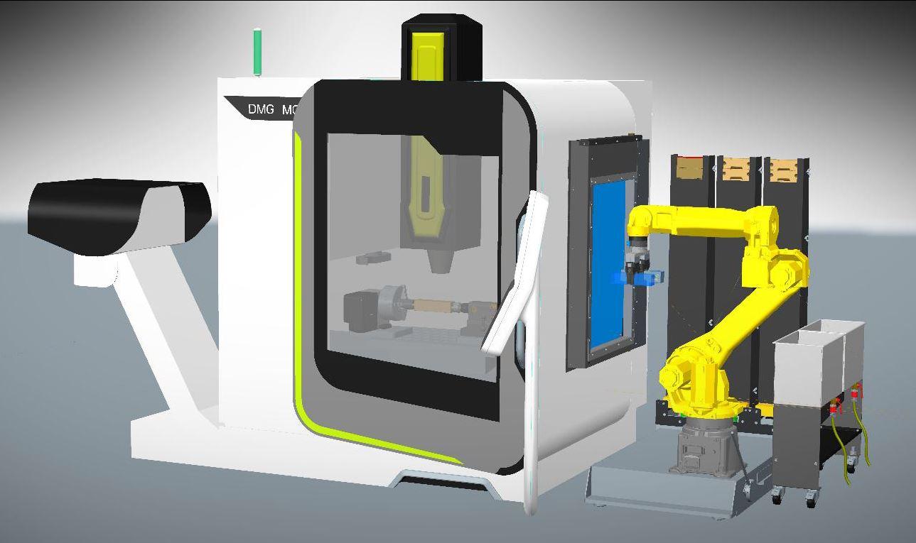 automatisierung einer cnc fr smaschine. Black Bedroom Furniture Sets. Home Design Ideas